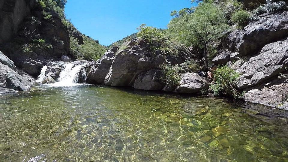 Balneario La Toma Capilla del Monte en el Valle de Punilla