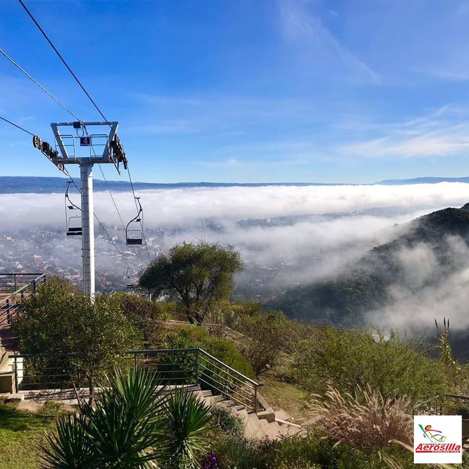 Paseo en aerosilla en Villa Carlos Paz en el Valle de Punilla