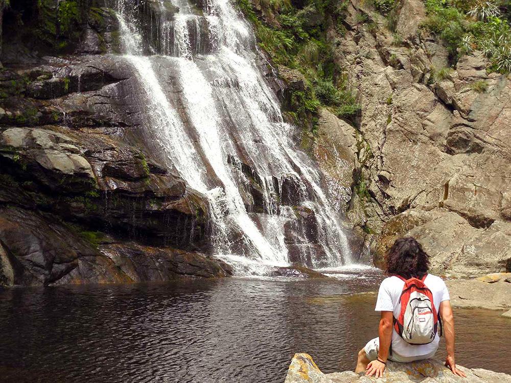 Cascada Los Chorrillos en el Valle de Punilla