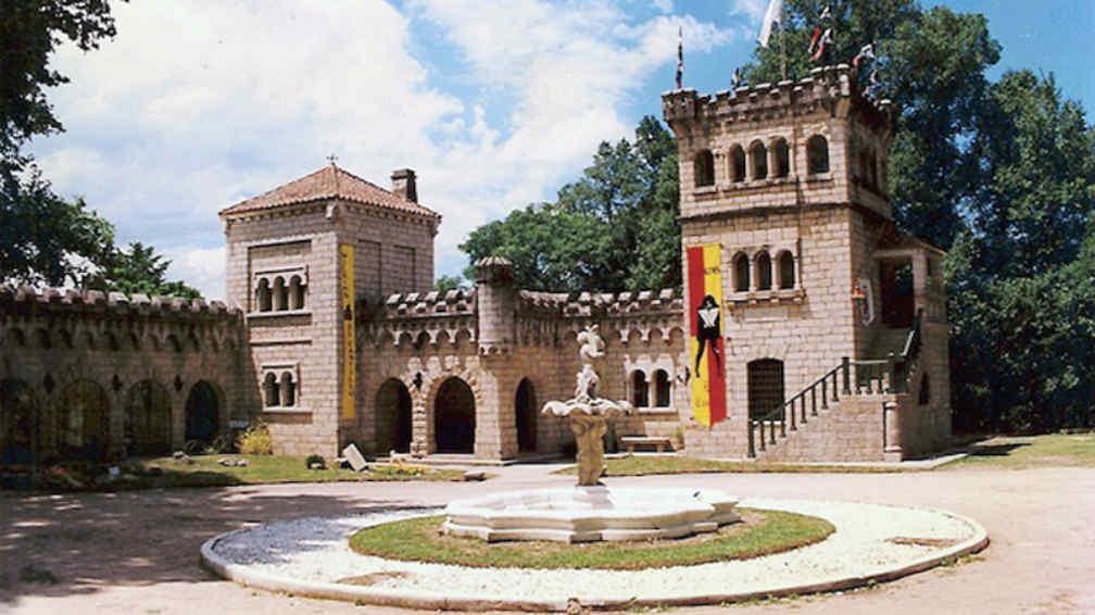 Castillo De Wilkins en el Valle de Punilla