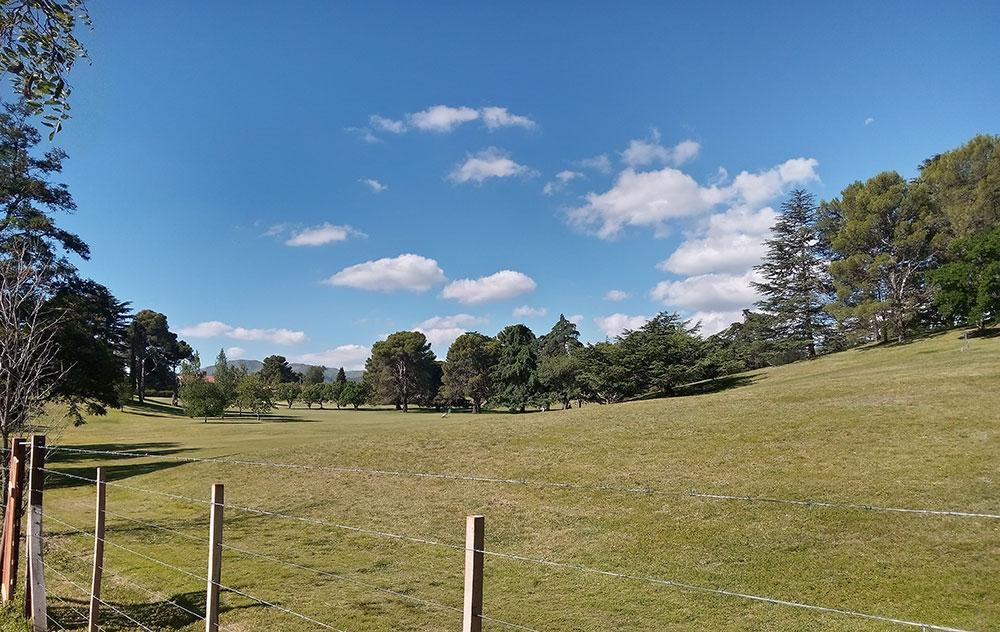 La cumbre Golf Club en el Valle de Punilla